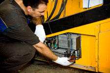 Forklift service and maintenance on gas and electric powered forklifts